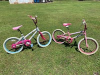 Children's two pink and purple bicycles Moyock, 27958