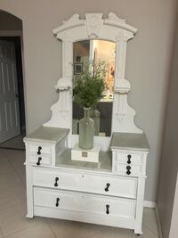 Antique dresser over 100 years old. This is a beautifully detailed piece and a rare find North Port, 34287