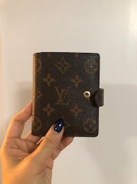 Authentic Vintage Louis Vuitton Double Fold Wallet