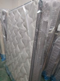 gray and white floral mattress AUGUSTA