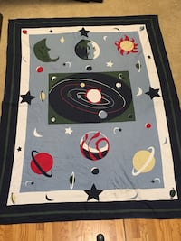 Space Quilt and accessories