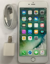 64GB Factory Unlocked iPhone 6 Plus(6+) - White/Silver  New York, 10001