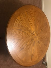 round brown wooden table top Lancaster
