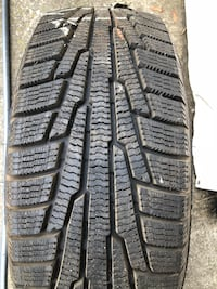 Set of 4 new winter tires 195/55r15 3483 km