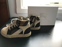 Burberry baby high top running shoes Toronto, M4L 3H1
