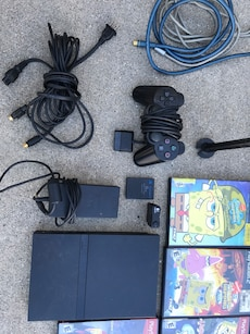 PlayStation 2 with 22 games and extras!!!
