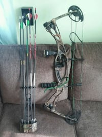 black and brown compound bow Ranson, 25438