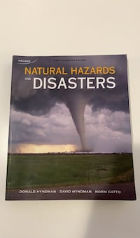 Natural Hazards and Disasters Toronto, M8Z 0E3