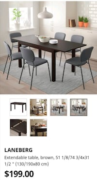 dining  table + 3chairs