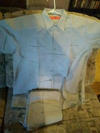 3 pairs of XL Never worn Red Kap gray work shirts Parkersburg