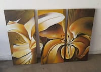 Set of 3 Canvas Pictures - Firm Price! Huntington Beach, 92649