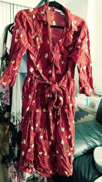 Size 18 red button down dress Alexandria, 22304