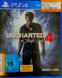 Uncharted PS4 Spiel Fall