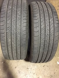 225/55/18 two tires for sale  Alexandria, 22302