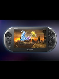 black Sony PSP handheld game console screenshot Edmonton, T5L