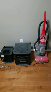 Humidifier, space heater and vacuum together Edmonton, T5B 1L9