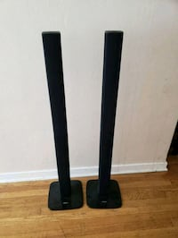2 Samsung tall boy home theater speakers  Seattle, 98101