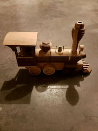 Vintage wooden train Edmonton, T5T 6E2