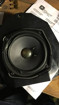 black and gray subwoofer speaker Quincy, 32351