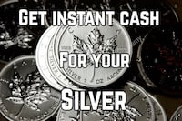 Get instant cash for your gold and silver Edmonton, T5J 0J1