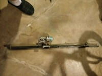 fishing poles 2 8 ft rod and 2 rods and reels 6 f  Racine, 53402