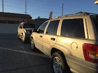 Jeep - Grand Cherokee - 1999 (pink in hand) or trade for dirt bike or quad Desert Hot Springs, 92240