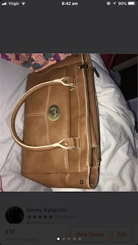 Brown leather ollie and nic handbag  Middlesbrough, TS8 0SE