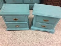 Pair of solid wood nightstands  South Daytona, 32119