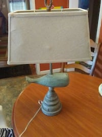 gray and brown table lamp Henderson, 42420