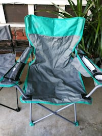 green and black camping chair Norco, 92860