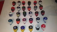 NHL toy helmets