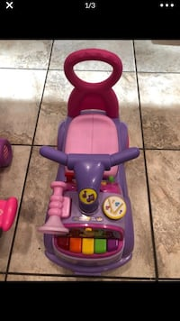 purple and pink plastic ride on toy Austin, 78717