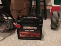 black Motomaster car battery Calgary, T3N