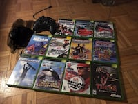 assorted Xbox 360 game cases London, N5Z 2E8