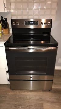 Black and gray induction range oven Rochester, 14609