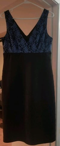 Gilani only worn once black with blue lace size 10 Brampton, L6S 3L7