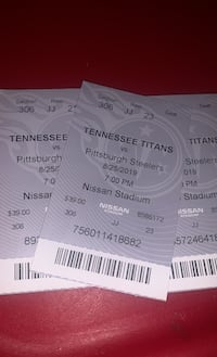 Titans Game Tickets Nashville