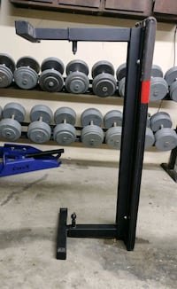 black and gray barbell and dumbbell set Fort Wayne, 46804