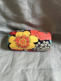 black, pink, and white floral wristlet Silver Spring, 20906