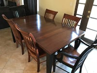 AMAZING! - Nichols and Stone 7 Piece Table-Orig $6000! Dining Room Set OCEANSIDE