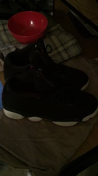 pair of black Nike basketball shoes Germantown, 20874
