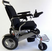 New Scoot-Buddy Deluxe electric powered foldable wheelchair on sale at www.mobility4less.com Miami