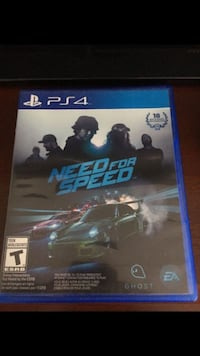 PS4 Need for Speed game case Pompano Beach, 33069