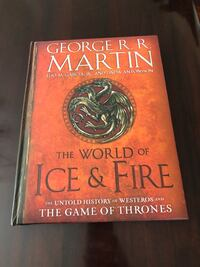 The World Of Ice & Fire by George R. R. Martin book