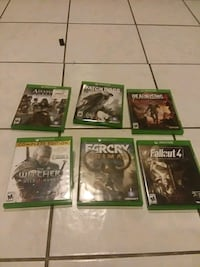 Xbox  one games Woodbridge, 22193