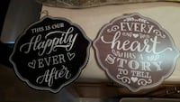 Wedding Decor - Wooden Signs