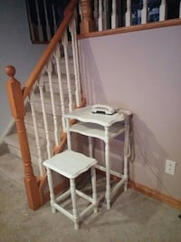 Telephone stand @chair