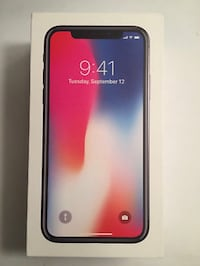 Apple iPhone X - 64GB - Space Gray (AT&T) Pasadena, 21122