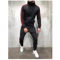 Men casual button up tracksuit (Top and Bottom Tracksuit) Toronto, M6G 2Z6