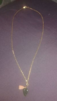silver chain necklace with pendant Winnipeg